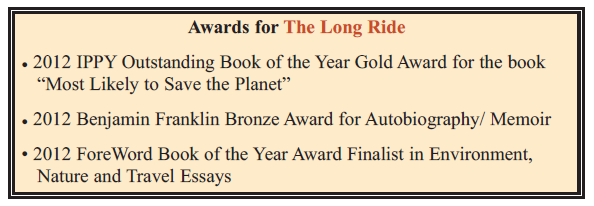 Awards for the Long Ride